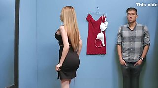 Brazzers - Raven Bay gets fucked in the changing room