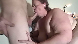 Karen tied up with me playing with her pussy