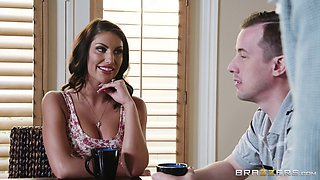 Nicole Aniston and August Ames are his wife and an ex, respectively