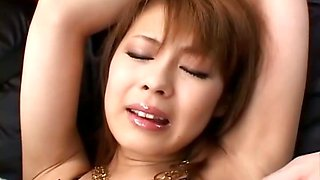 Japanese babe get pussy fucked by dildos uncensored