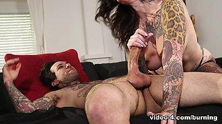 Crazy pornstars Joanna Angel, Small Hands, Juliana Rose in Best Natural Tits, Latex adult clip