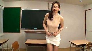 Asian amateur gal in nurse fishnet stockings