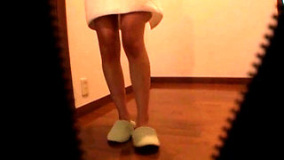 A Naked Japanese Housewife In A Bath Towel 2-1