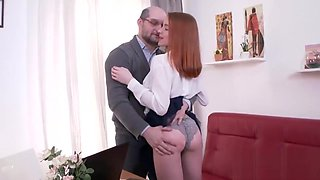 Innocent schoolgirl is seduced and banged by her older teacher