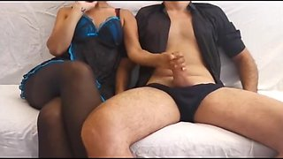 Lets See If You Cum Before My Husband Comes Back! - Amateur Italian Milf