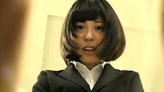 Japanese girl feet fetish NFDM-537