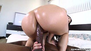 Big Black Dick In Valentina's Ass