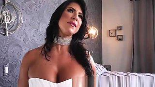 Brazzers - Raven Hart  Justin Hunt - My Slutty Stepmom's Wedding