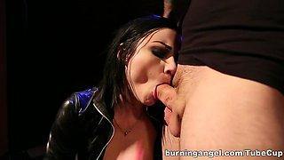 Amazing pornstar Veruca James in Incredible Latex, Hardcore sex scene